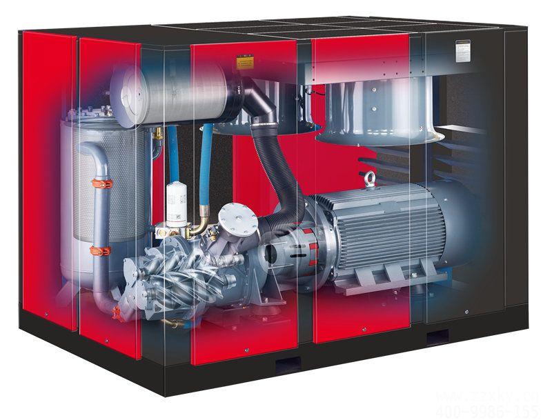 CPT340齿轮驱动压缩机内部