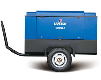 河南富达电动机驱动移动空气压缩机