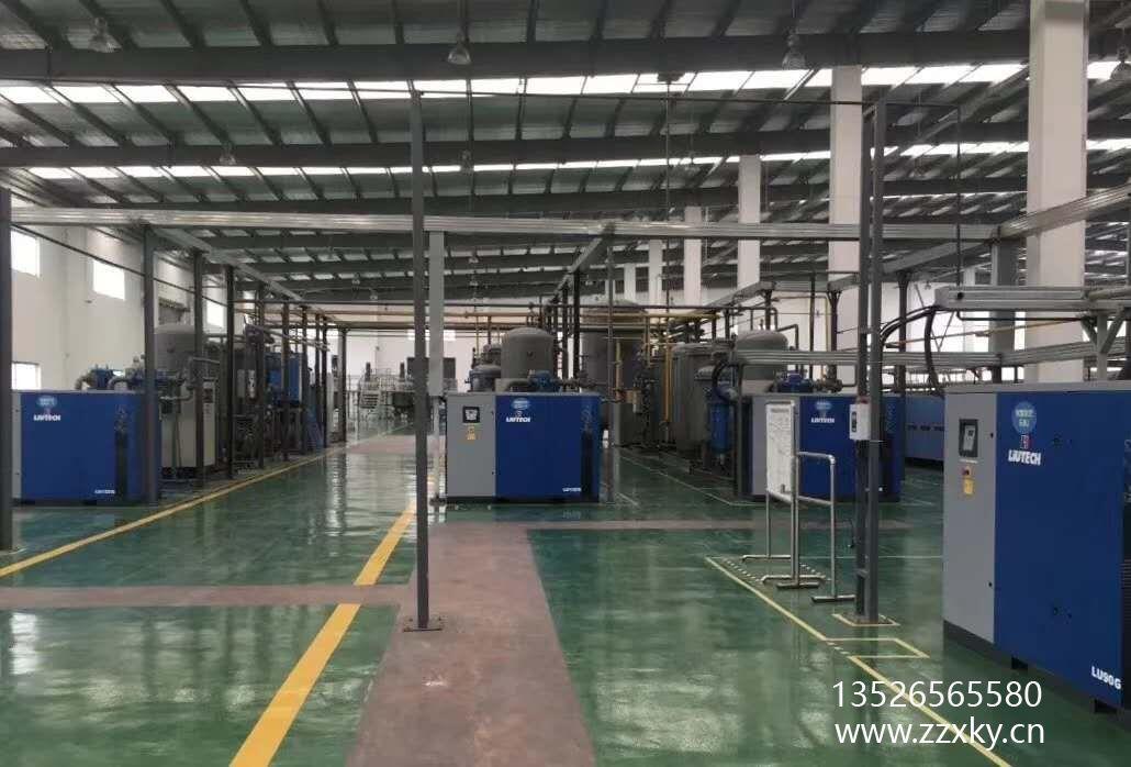 河南柳州富达柳泰克空压机LU90G的应用